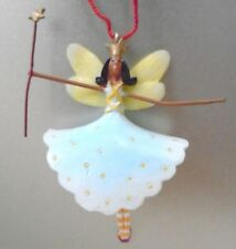 Vintage Miniature Fairy Ornament With Crown & Wand