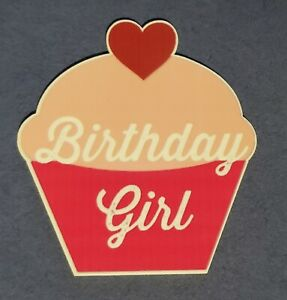2 pc. Planar Resin Hair Bow Center WHOLESALE Cupcake BIRTHDAY girl  70 x 65mm