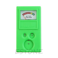 Plastic Button Watch Repair Coin Cell Battery Power Checker Test Tester Tool New