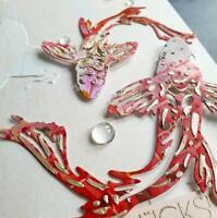 Karpfen Fisch Metall Cutting Dies Scrapbooking Stanzschablone Stencil Handwerk