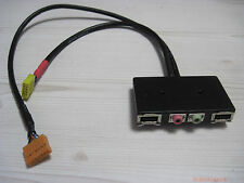 desktop computer host case 2-port USB + 3.5mm HD AUDIO MIC Board Front I/O Panel