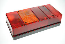 Pair of Large Oblong 6 function rear lamps/lights for Caravans/Trailers etc