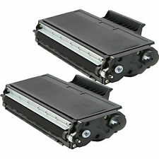 2 pk TN-580 TN580 Toner Fits Brother MFC-8460N MFC-8470DN MFC-8660DN MFC-8670DN