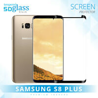 5D Case Friendly Tempered Glass Screen Protector For Samsung Galaxy S8+ Plus