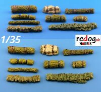 1/35  Masking Nets and Rolls - Scale Models  Stowage / Accessories Kit