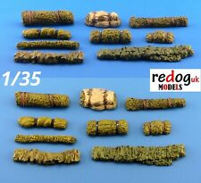 1/35 resin modelling kit / diorama accessories - masking nets rolls /35/n