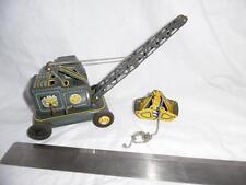 Vintage Grab Loader Excavator Tinplate Crane by K of Japan