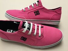 DC Women's Pink Gatsby Fashion Walking Sneaker Size 9