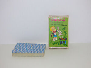 Vintage Richie Rich Rich Man Poor Man Card Game Complete in Box
