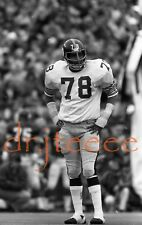 1974 Dwight White PITTSBURGH STEELERS - 35mm Football Negative