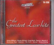 THE GREATEST LOVE HITS 2-CD SKY RADIO George Michael Corrs  Ten Sharp Twarres
