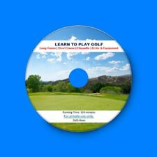 Learn How to Play Golf Lessons Golfing Secrets Tips PGA Video Tuition MP4 DVDRom