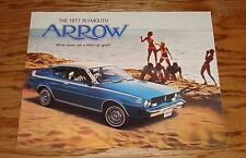 Original 1977 Plymouth Arrow Sales Brochure 77