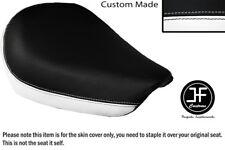 Blanco y Negro personalizado de vinilo cabe SUZUKI GZ 125 Marauder frente cubierta de asiento solamente