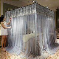 2020 new on market mosquito net bed curtain lace bed netting canopy frames queen