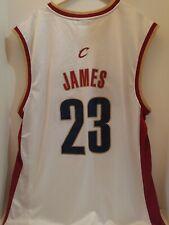 LEBRON JAMES CLEVELAND CAVALIERS REEBOK NBA  Jersey ADULT LARGE