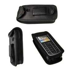 caseroxx Ledertasche mit Gürtelclip für Nokia 6230, 6230i in schwarz aus Echtled