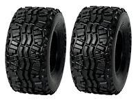 (2) New Duro 24x11-10 DI-K968 Dunlop KT869 Rear OEM Kawasaki 610 Mule 4x4 Tires