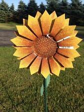 "Yard Stake ~ 8"" Sunflower ~ 36"" Stand ~ New in Box ~"