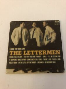 1960's BARBIE Dream House Cardboard Furniture: Record Cover The Lettermen ONLY