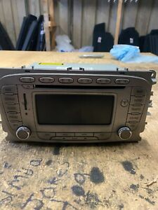FORD FOCUS  2009-2012 SAT NAV RADIO CD PLAYER  9M5T18K931DA WITHOUT CODE!!