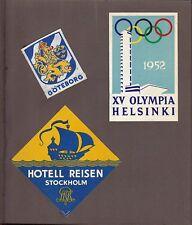 121 photo foto album German team Olympic games jeux olympiques Helsinki 1952