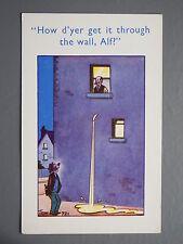 R&L Postcard: Comic, Coastal Cards 721 Trow, Leaking Pipe, Weeing