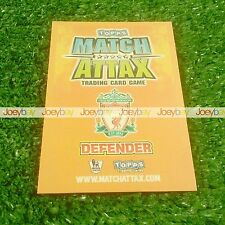09/10 MAN OF THE MATCH CARD MATCH ATTAX 2009 2010 FROM ALL 60