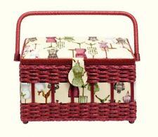 Prym Medium Craft Box - Beige & Red