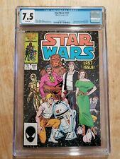 Star Wars 107 Marvel Comics 1986 CGC 7.5