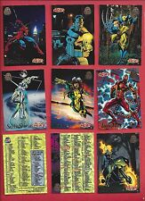 1994  MARVEL UNIVERSE SERIES V  5  Complete Your Set U pick 6 cards NM to Mint
