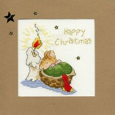 Bothy Threads ~ Counted Cross Stitch Kit ~ Christmas Card ~ First Christmas