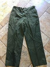 US Army Korean War Era M-1951 Wool Field Trousers Pants Military Korea R Large