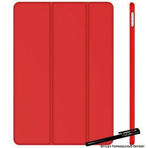 Coque Smart Rouge pour Apple iPad Pro 12.9 2015/2017 Etui Folio Ultra fin