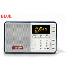 TECSUN Q3 FM stereo Radio Recorder/MP3 Player FM 76-108 MHz Pocket Size TF card