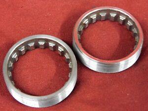 "XLNT Phil Wood Sealed Bottom Bracket Stainless Steel Rings English 1.37"" x 24"