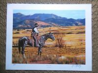 """FREDERICK HAMBLY SIGNED ARTIST PROOF LITHOGRAPH TITLED """"BUENA VISTA"""""""