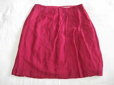 Red Skirt, Veronika Maine, Lined, Tags, 16, Twist Front, Never Worn, A-Line