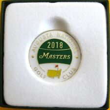 2018 Augusta NATIONAL MASTERS COMMEMORATIVE GOLF BALL MARKER - DATED
