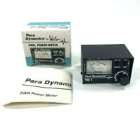 Vintage Para Dynamics PDC 1 SWR & Power Meter