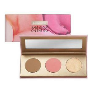 bare Minerals BARE GLOW ON-THE-GO Face Palette Faux Tan Graceful Rose Free