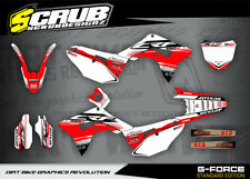 Honda CRF graphics decals CRf 450 R 2017 - 2018 '17 - '18 - SCRUB MOTOCROSS MX