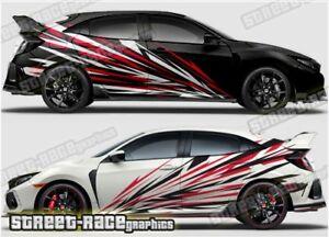 Honda Civic Rally 024 racing motorsport graphics stickers decals vinyl
