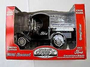 Gearbox 76604 1:24 Diecast 1912 Ford Benzol Limited Edition Coin Bank