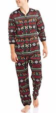 New Budweiser Pajamas Men's Small 34-36 Union Suit Ugly Christmas Wonderful Beer