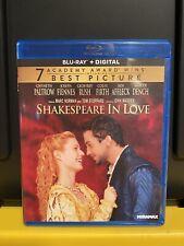 Shakespeare In Love (Blu-ray) Joseph Fiennes Gwyneth Paltrow No Digital