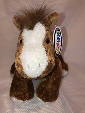 Mary Meyer Flip Flop Brown Horse 1999 Beanbag Plush Stuffed Animal