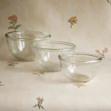 Britain Clear Pyrex Glassware Bowls