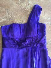 Women's Monsoon Cadbury Purple Full Length Dress - Size 16 - BNWT