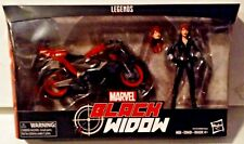 Marvel Legends Series Black Widow with Motorcycle New MISB